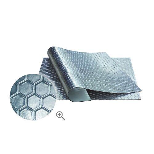 Bitumenmatte Selbstklebend Dämmmatte 2 mm 50x50 Antidröhnmatte Akustik Tür Kfz