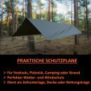 Zeltplane Camping Garten Ultraleichtes Tarp...
